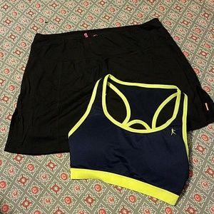 SM LUCY Tennis Skort & Sports Bra A#3
